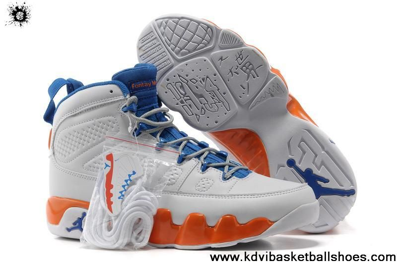 brand new 1eefc 831a2 Latest Listing Discount Air Jordan IX (9) Fontay Montana-Pure Platinum Game  Royal-Mandarin Shoes Store