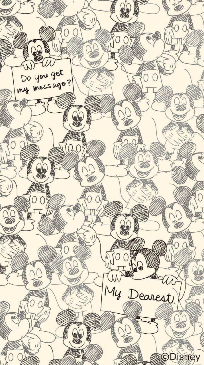 Mickey discovered by Naty on We Heart It