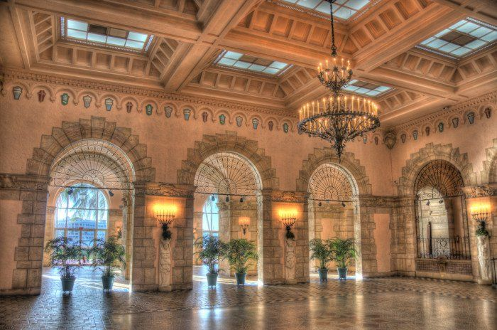 This scene from Whitehall  (Flagler Museum) in Palm Beach looks like the perfect setting for Cinderella's ball.