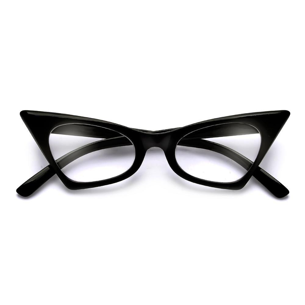 0dba06a653 5.00  Vintage High Pointed Tip Cat Eye Readers   sunglassspot