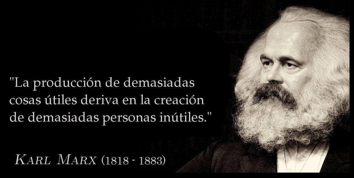 Karl Marx El Motor De La Historia La Lucha De Clases