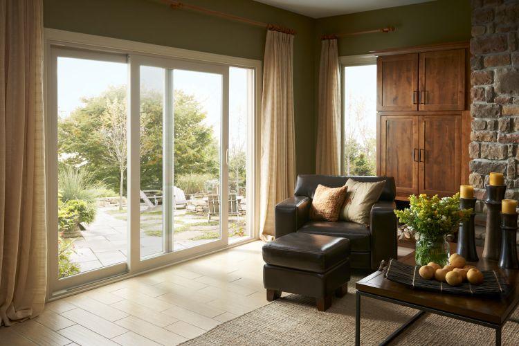 terrassenturen schieben kunststoff weiss garten wohnzimmer landhausstil fenster und t ren. Black Bedroom Furniture Sets. Home Design Ideas