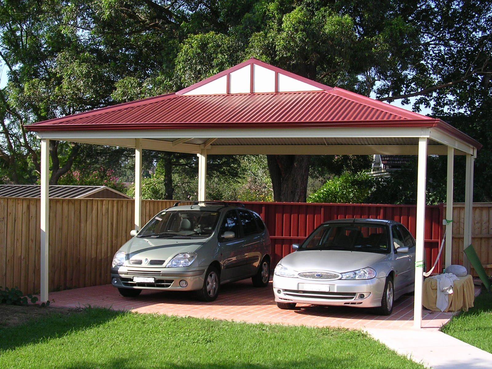 Carport double carport brisbane outside concepts for Apartment carport