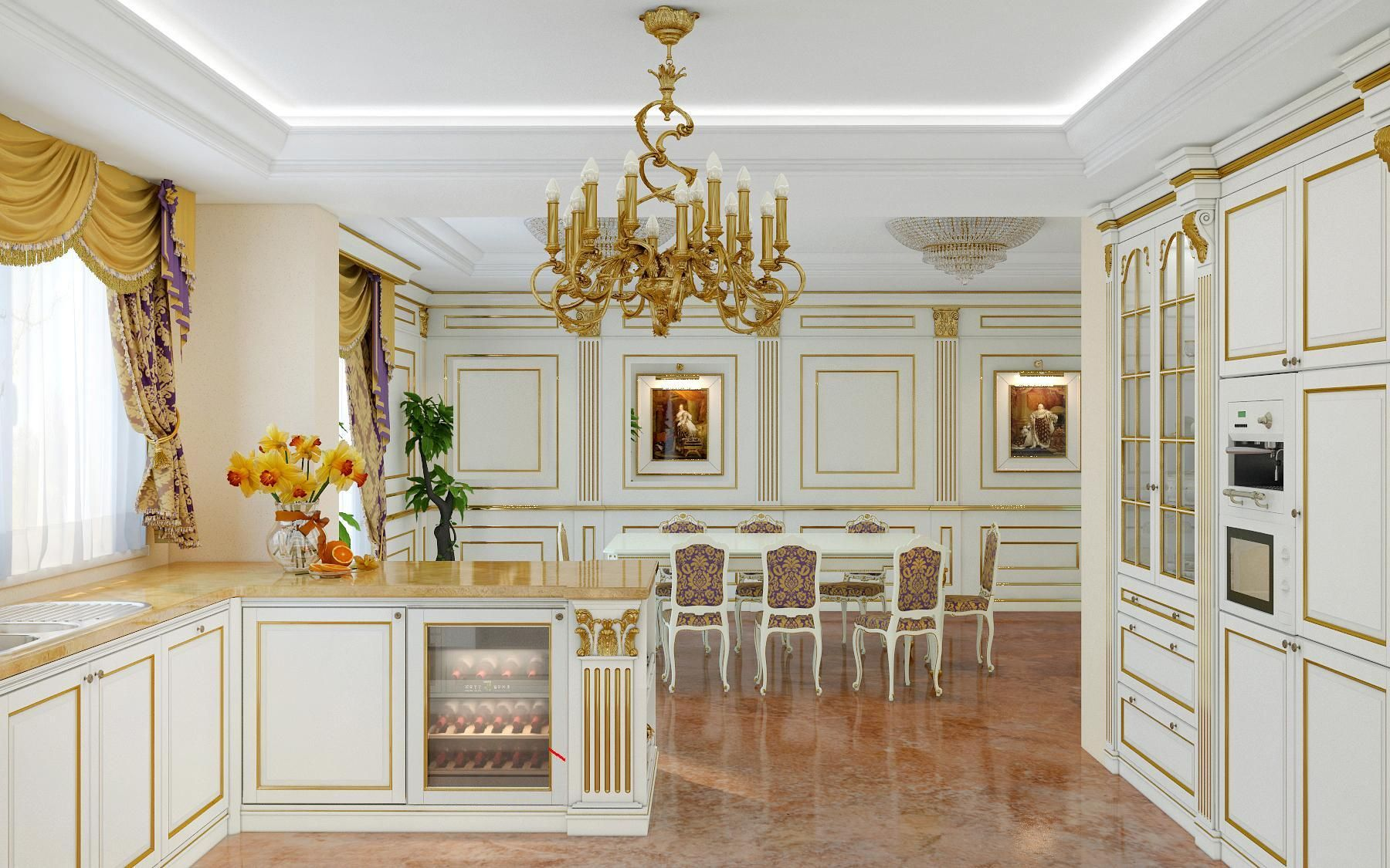 Luxury kitchen made in Italy Legacy | Luxury kitchens ...