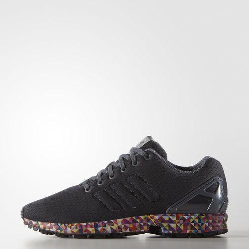 hot sale online fca22 9fede ZX Flux Shoes - Grey
