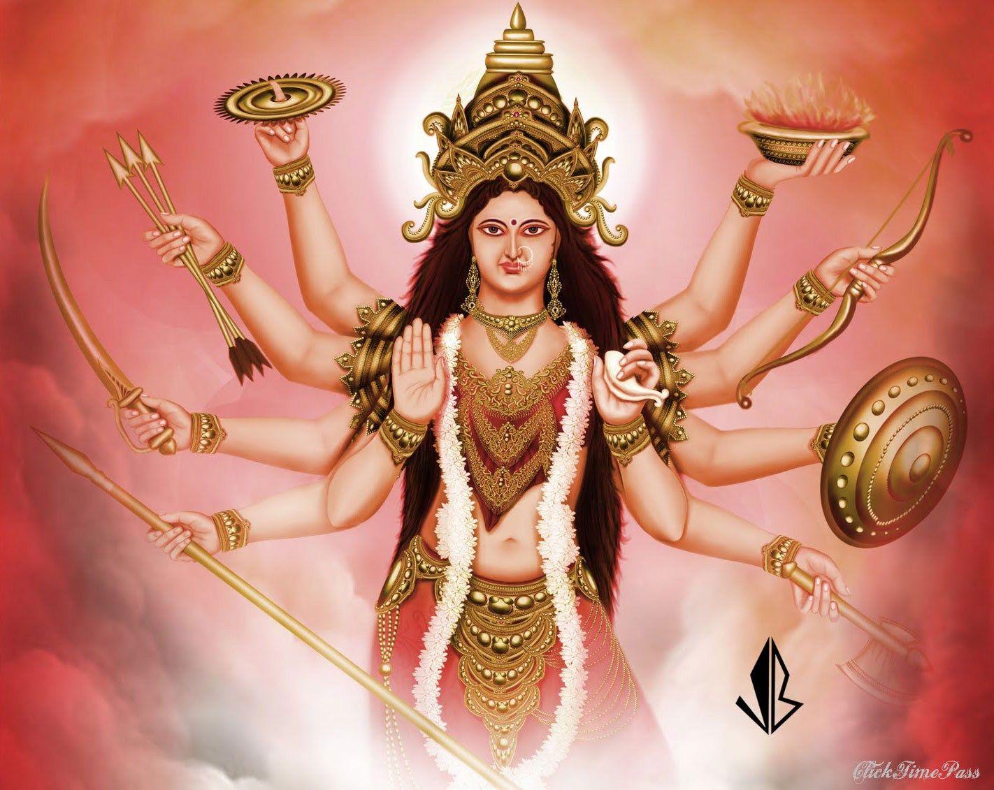 Shakti Cakes Wallpapers Adi Shakti Adishakti Shailaputri Who Is Adi Maya Shakti Durga Durga Maa Durga Goddess