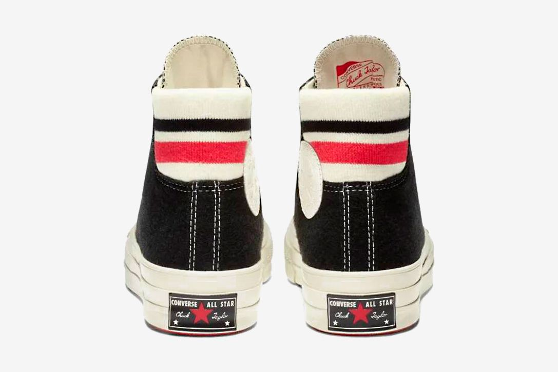 dd1453adeb921 Converse Chuck 70 Retro Stripe High Top Sneakers