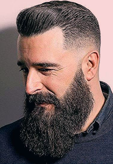 Glamorous Looks To Sport With The Fade And Beard