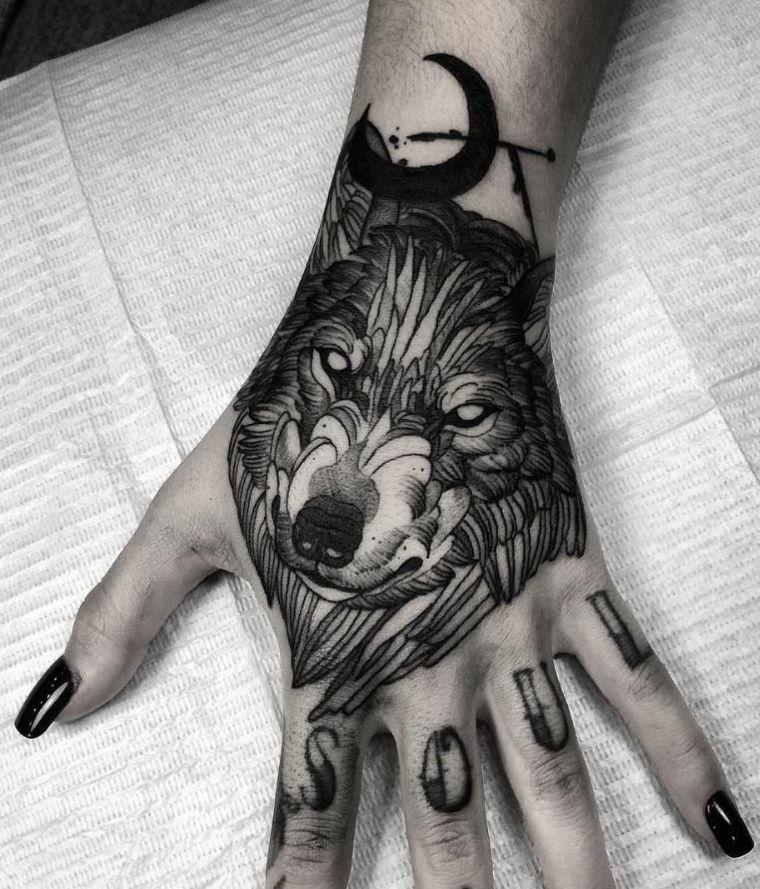 Tatuaje Lobo Un Significado Plasmado En Nuestra Piel Tatuajes En La Mano Tatuaje De Lobo Blanco Tatuajes De Lobos