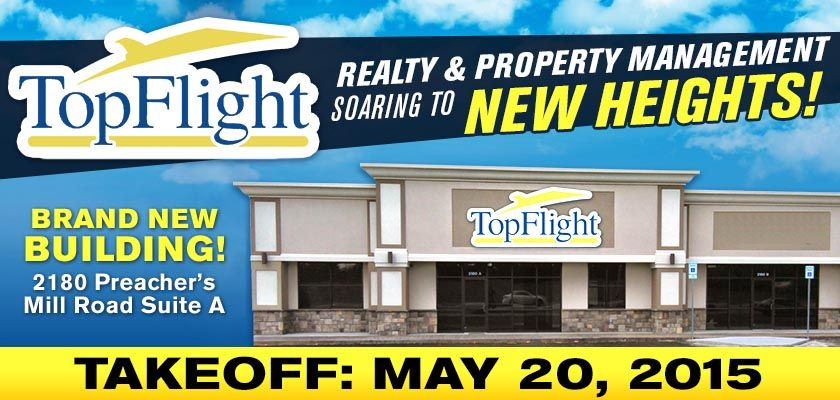 TopFlight Realty and Property Management is moving to our