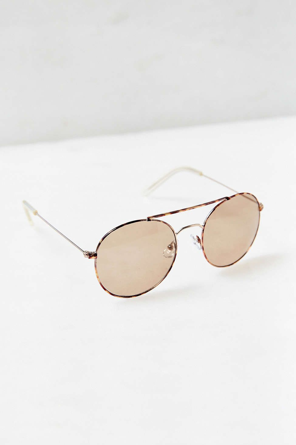 Heritage Rounded Aviator Sunglasses   want   Pinterest   Acessórios 9b55e63c86