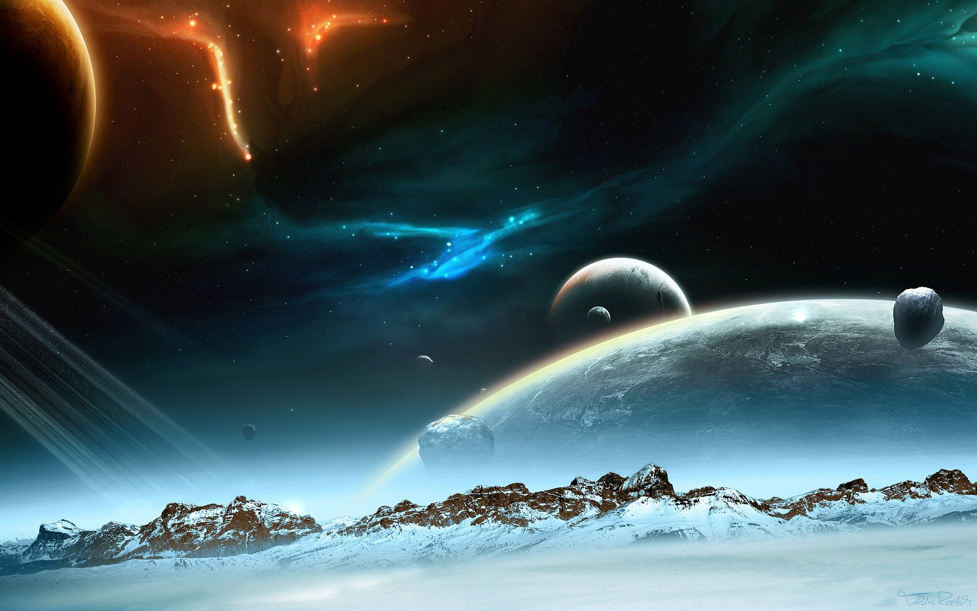 Hd wallpaper universe - Find This Pin And More On Extra Solar Planet Art Search Results For Hd Wallpaper