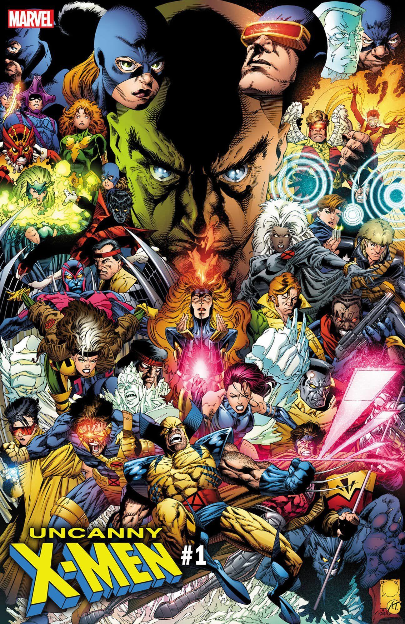 Joe Quesada S Incredible Cover For Uncanny X Men 1 Cbr Marvel Comics Superheroes Marvel Comics Artwork X Men