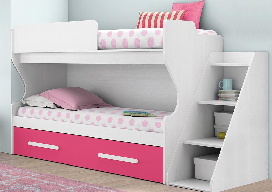 Literas con mucho estilo dormitorios infantiles - Estanterias infantiles online ...