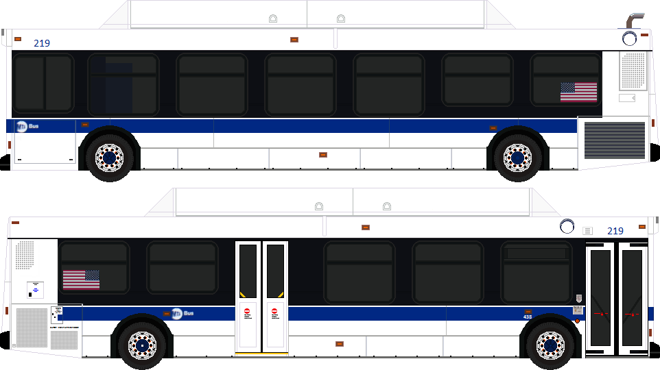 MTA Bus Drawings From Your Proficient Computer Artist