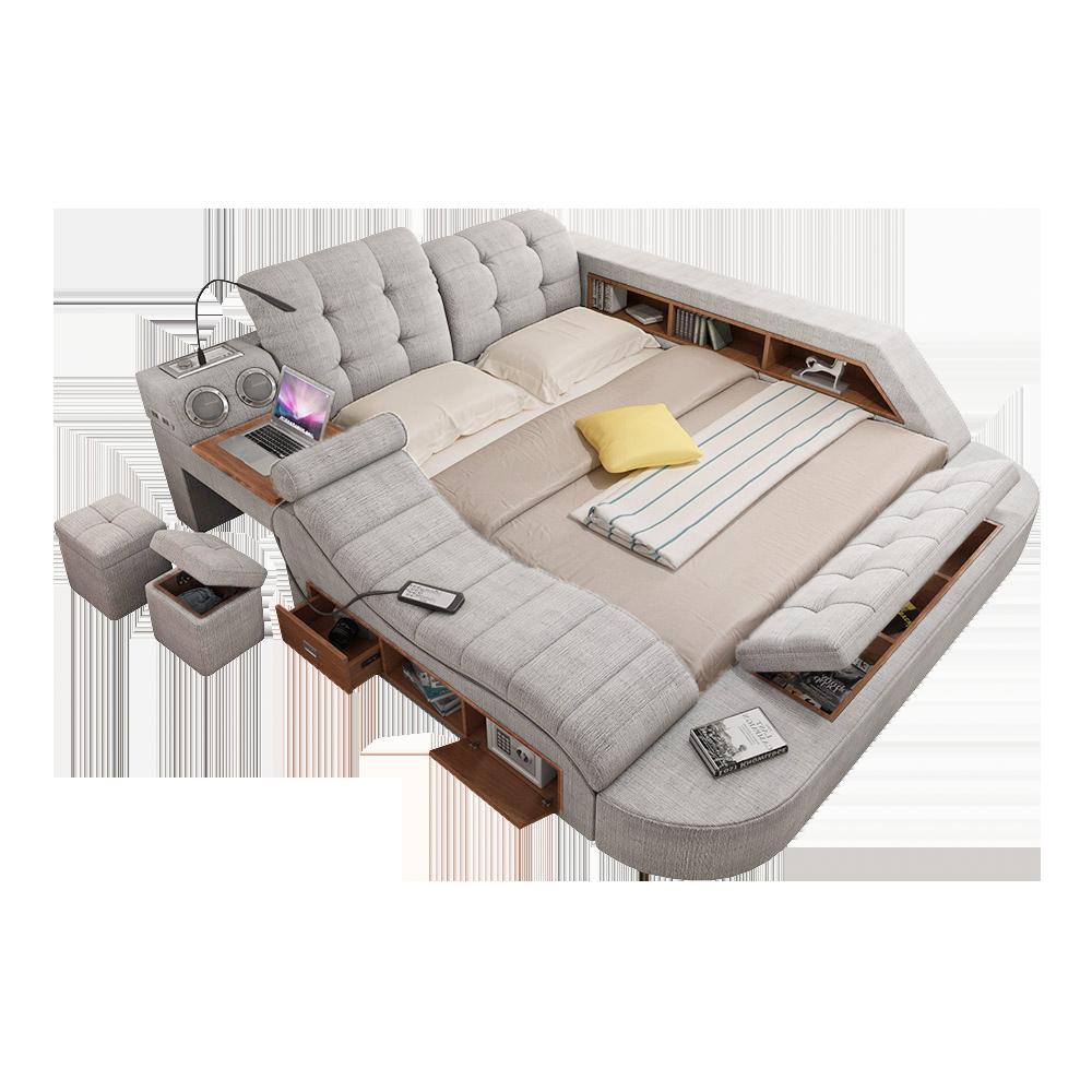 Lunar One ™ LiveLunar Smart bed, Storage spaces, Home