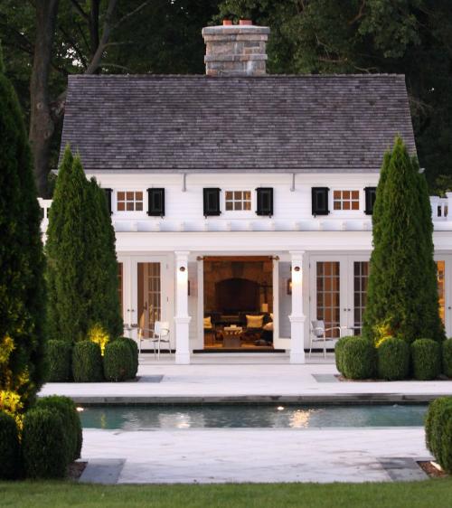 pool house   Janice Parker landscape design