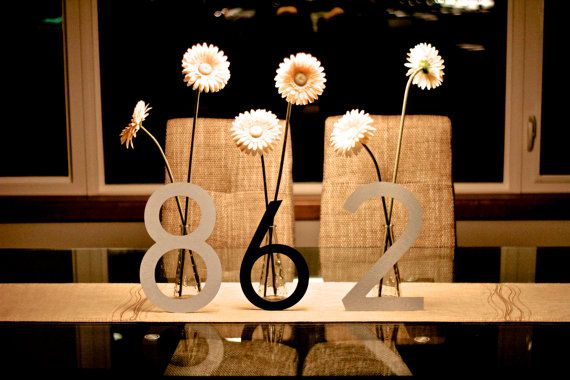 From Housenumberkingcom INCH Large Modern Metal House - 10 inch metal house numbers