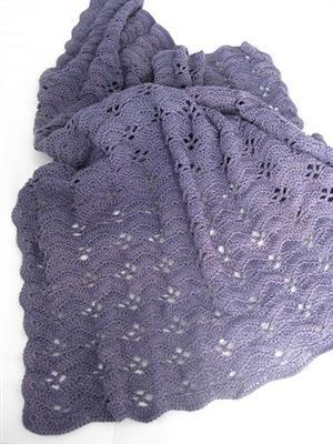 Shell Crochet Patterns Free Crochet Shell Blanket Pattern