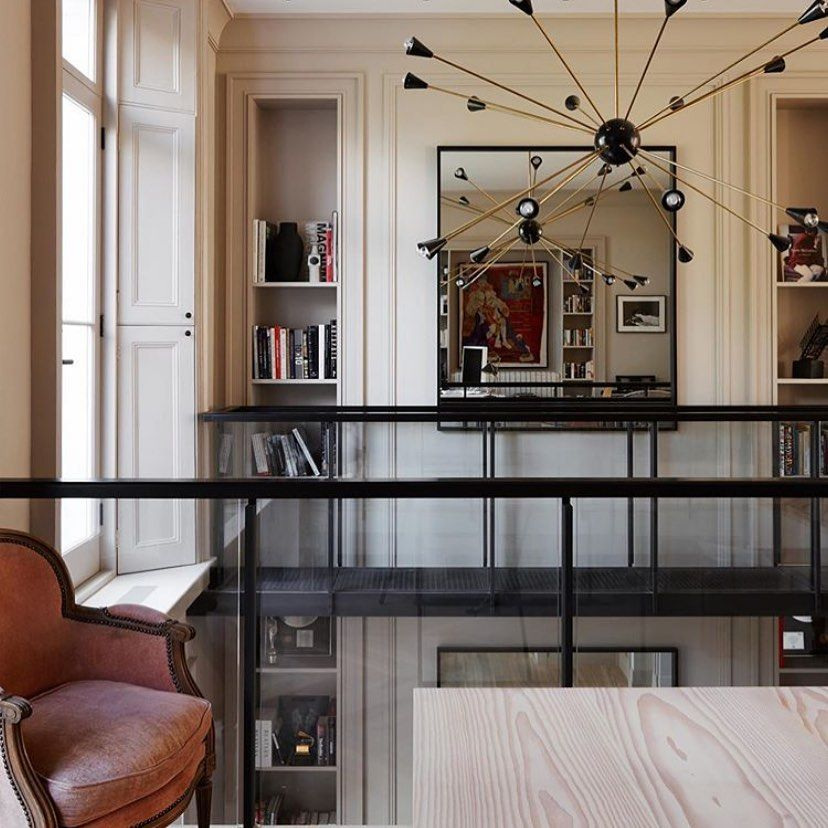 Even With High Hats In Place A Chandelier Doesn T Hurt For A Little Extra Oomph In Your Ligh Interior Design Best Interior Design Contemporary Interior Design