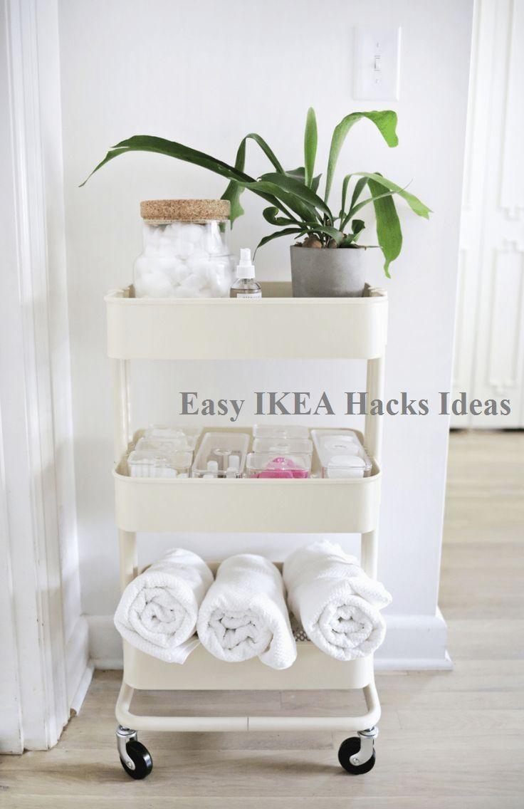 8 IKEA Hacks For Small Bathrooms – Easy DIY…