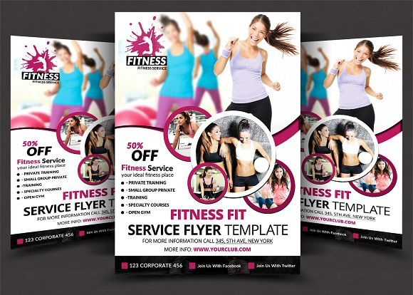 Fitness Flyer Flyer Template And Template