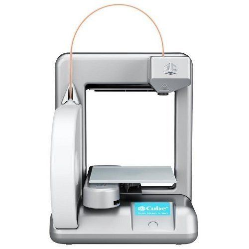 Cubify Cube 3D Printer 2nd Generation SILVER (851992000925) Cubify Cube 3D Printer 3nd Generation Silver