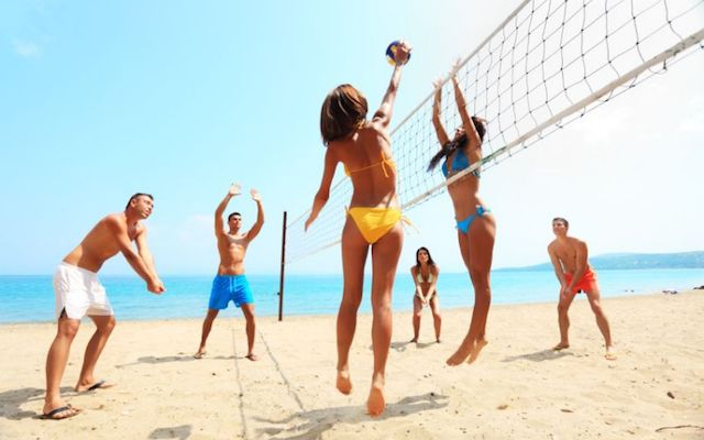 Top 10 Funny Beach Volleyball Team Names Go Sports Tourism Blog Volleyball Team Names Volleyball Humor Vacation Workout