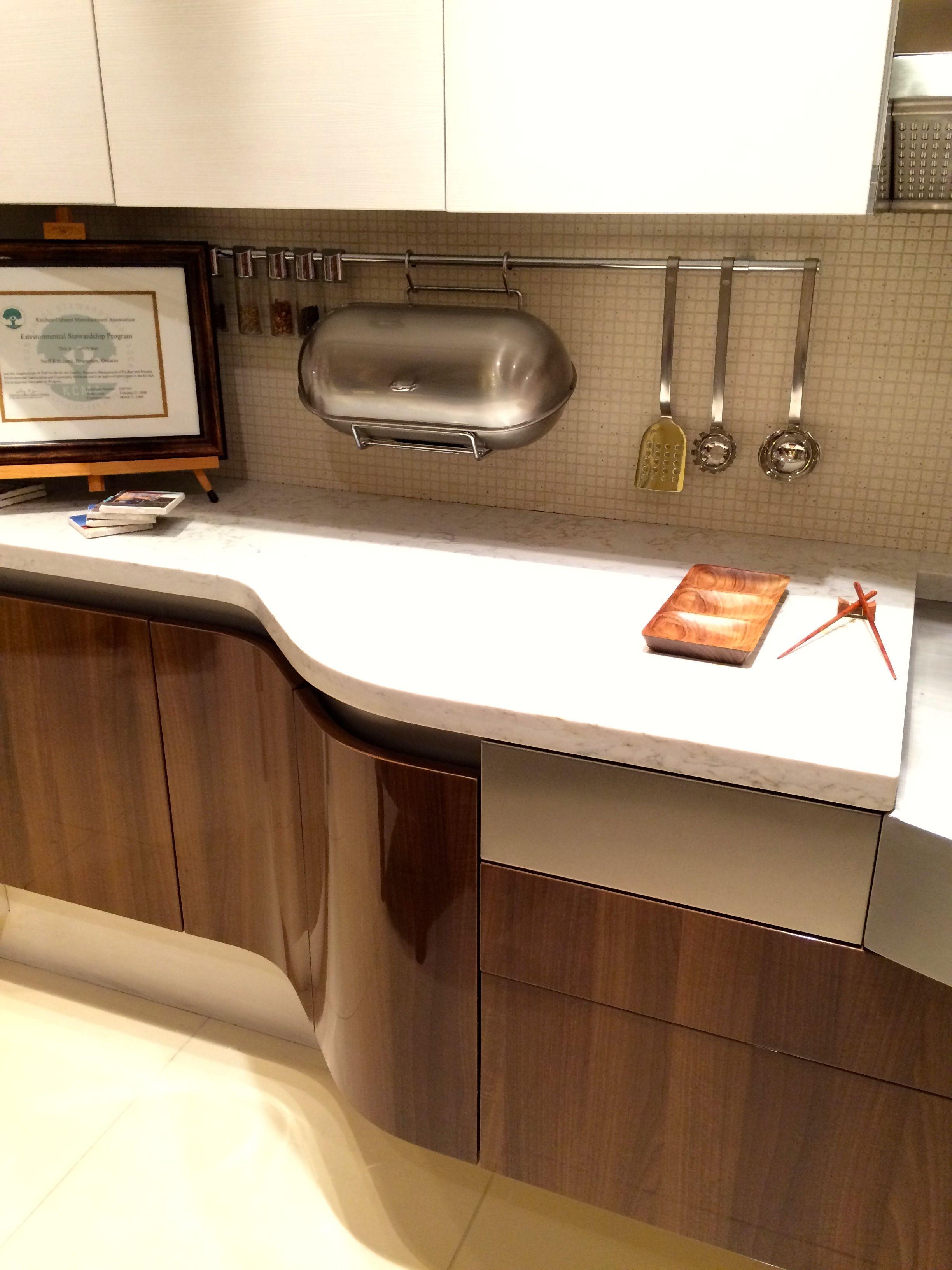 Neff Of Chicago, Modern Kitchen Design, Curvy Kitchen, Saskatoon, Metric  Design Centre