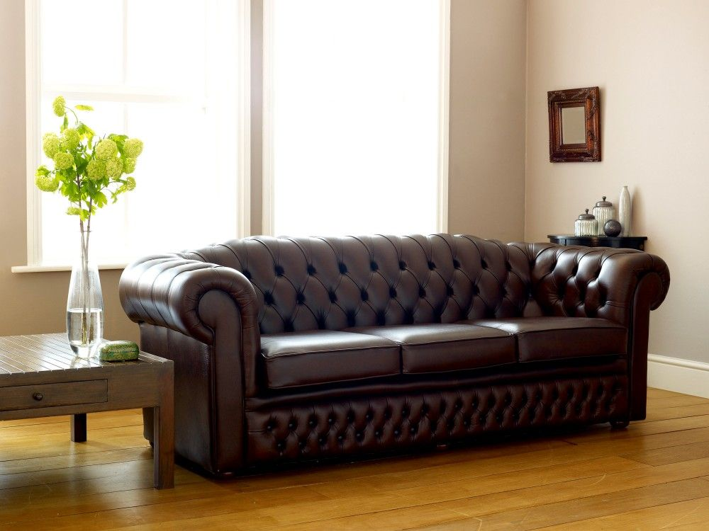 Superior Oxley Classic Leather Chesterfield