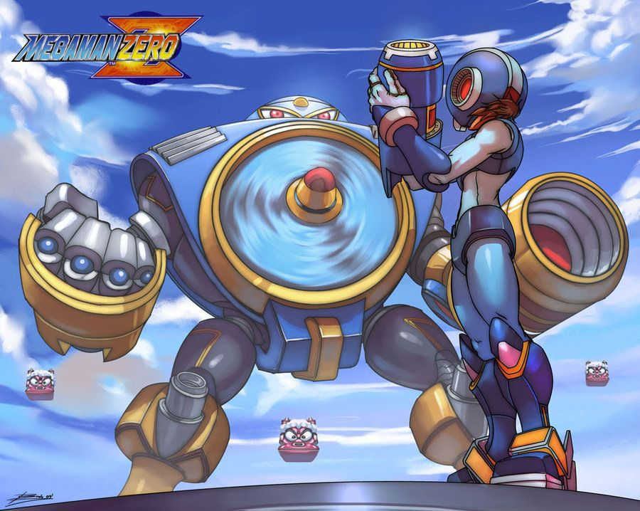 Deviantart Megaman Alia Inflation: Megaman Vs Airman Via ~Brolo On DeviantART