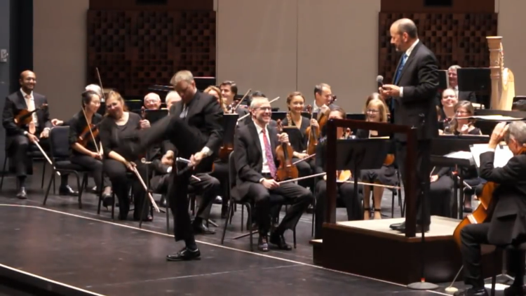 The Florida Orchestra Recreates GEICO's Triangle Solo