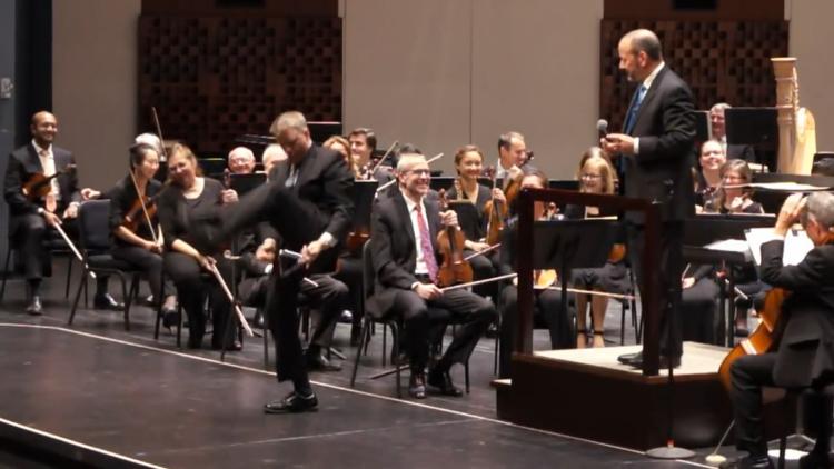 The Florida Orchestra Recreates GEICO's Triangle Solo