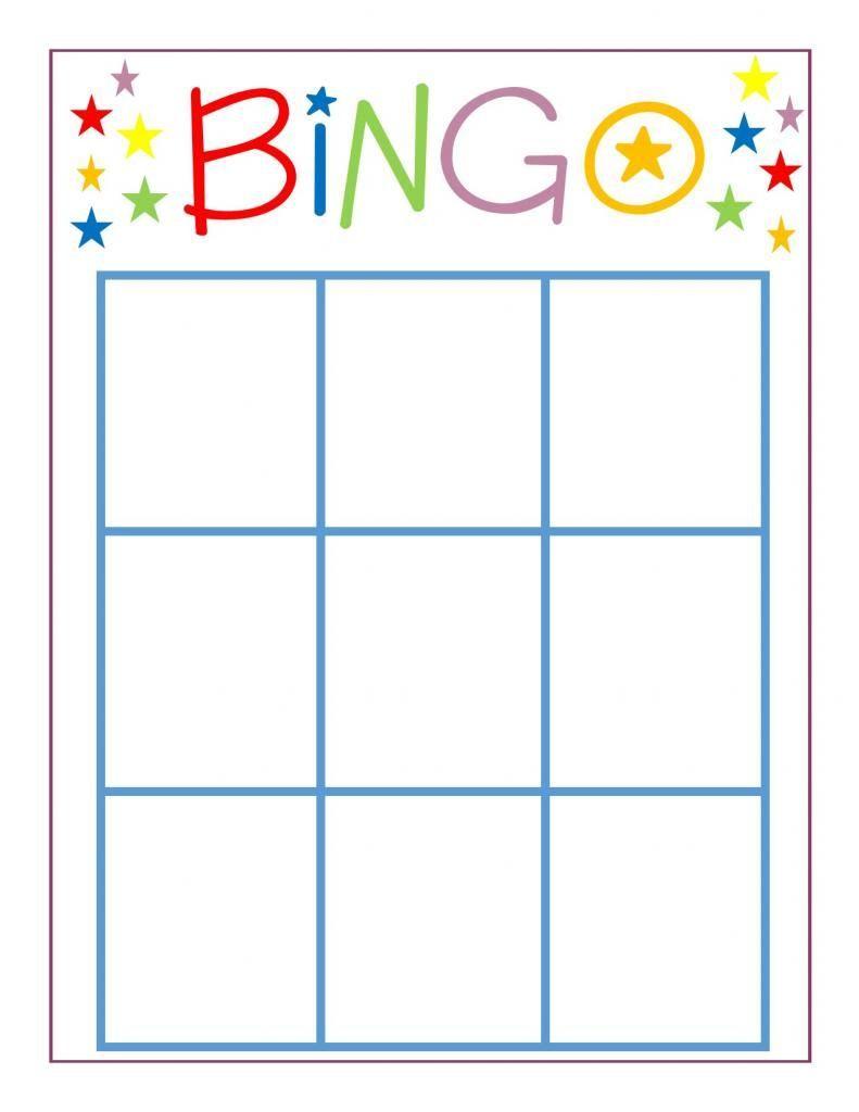 Family Game Night Bingo School Blank Bingo Cards Bingo Regarding Bingo Card Template Word 11 Te In 2020 Bingo Card Template Bingo Cards Printable Bingo Sheets