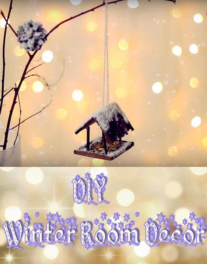 DIY Winter Room Decor | ❄ All About Christmas ❄ | Pinterest | Diy ...