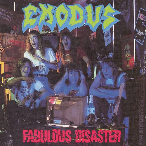 Official Exodus 30 Years T-Shirt Tempo Of The Dammed Fabulous Disaster