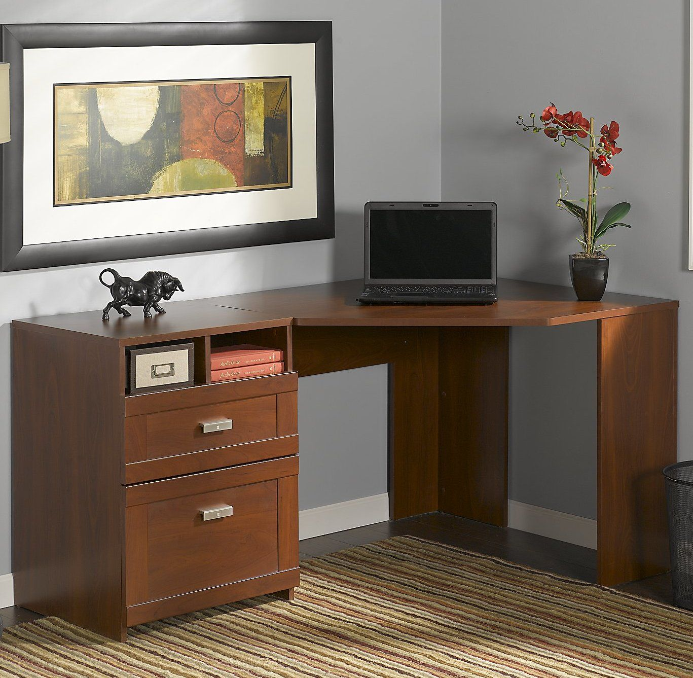 willa corner computer desk cabinet desk best home office desk rh pinterest co uk