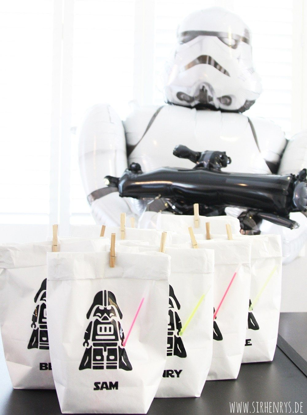 SirHenryu0027s: Star Wars Kindergeburtstag