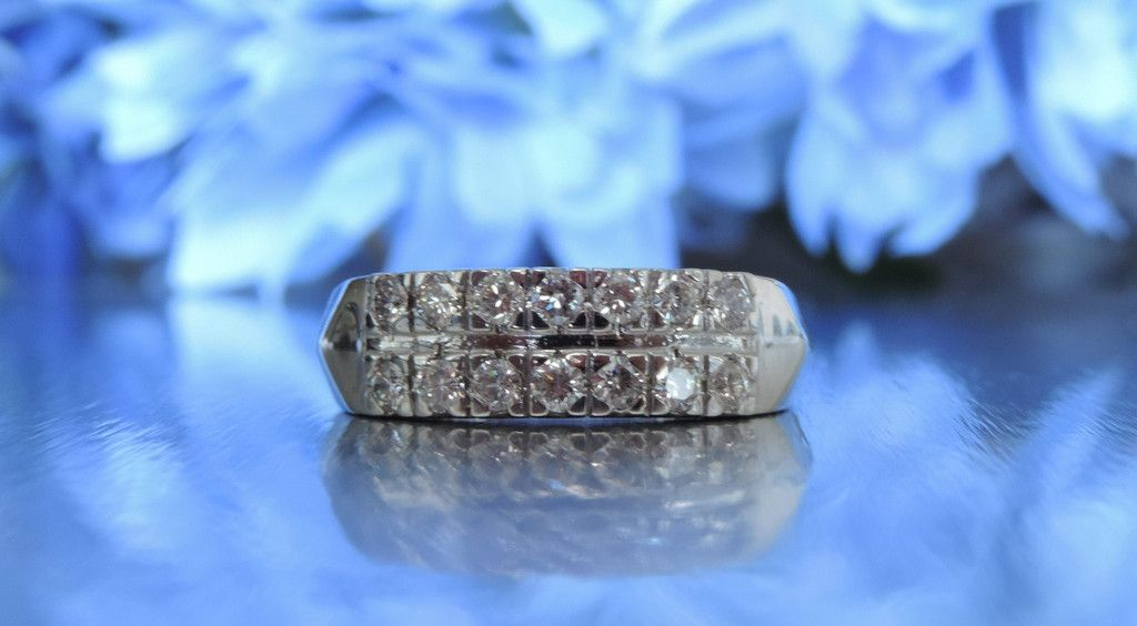 transcendfinejewellery.com CLASSIC TWO ROW HALF ETERNITY WEDDING RING AND OTHER FINE JEWELRY – Transcend Fine Jewellery