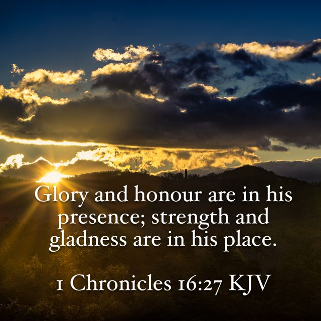 Glory and honor #Bible #verse | Inspirational scripture,  Bible ...