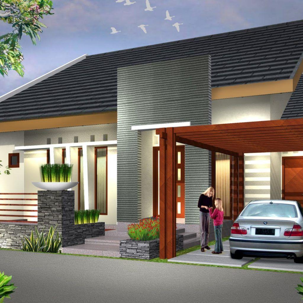 Ini Dia Rumah Minimalis Type 45 Modern Paling Dicarikan 2020 Di 2020 Rumah Minimalis Denah Desain Rumah Rumah