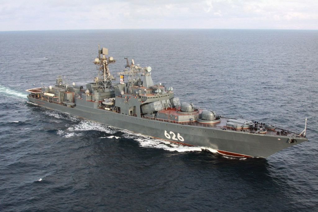 Russian Navy Warships Are Escorting Nord Stream 2 Pipeline Vessels In Bay Of Biscay Naval News In 2020 Naval Warship Boat