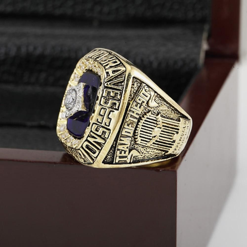 Atlanta Braves World Series Ring 1995 Premium Series Atlanta Braves World Series Atlanta Braves World Series Rings