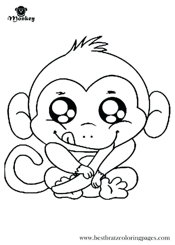 Coloring Pages Of Monkeys Coloring Pages Monkeys Monkey Color Pages Cute Printable Monkey Coloring Pages Cartoon Coloring Pages Monster Coloring Pages