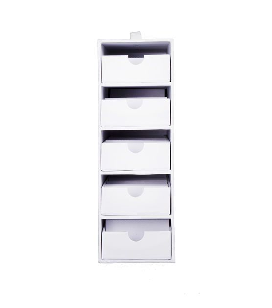 Stash And Store 5 Drawer Supply Case