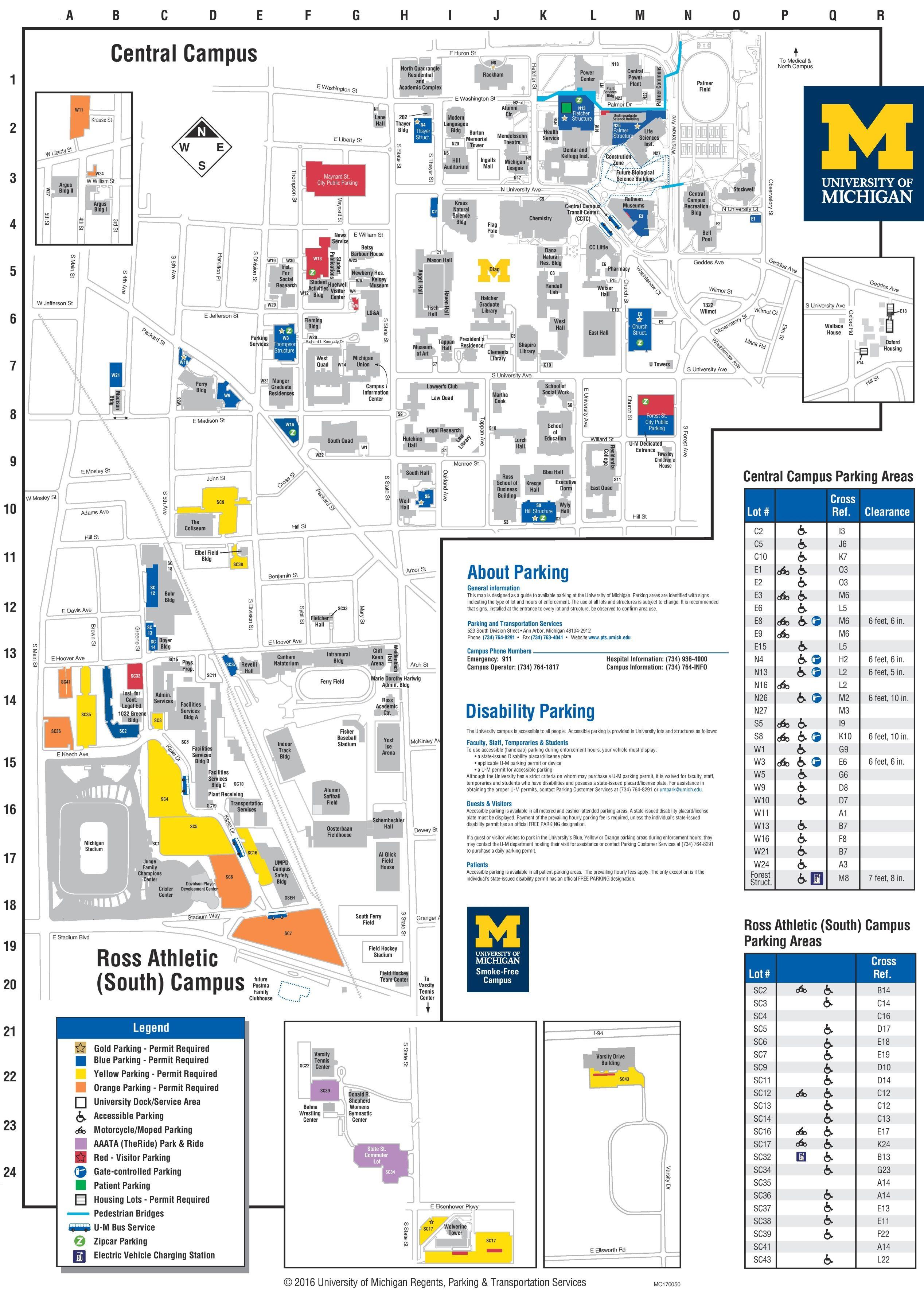Ub South Campus Map : south, campus, University, Michigan, Campus, Campus,