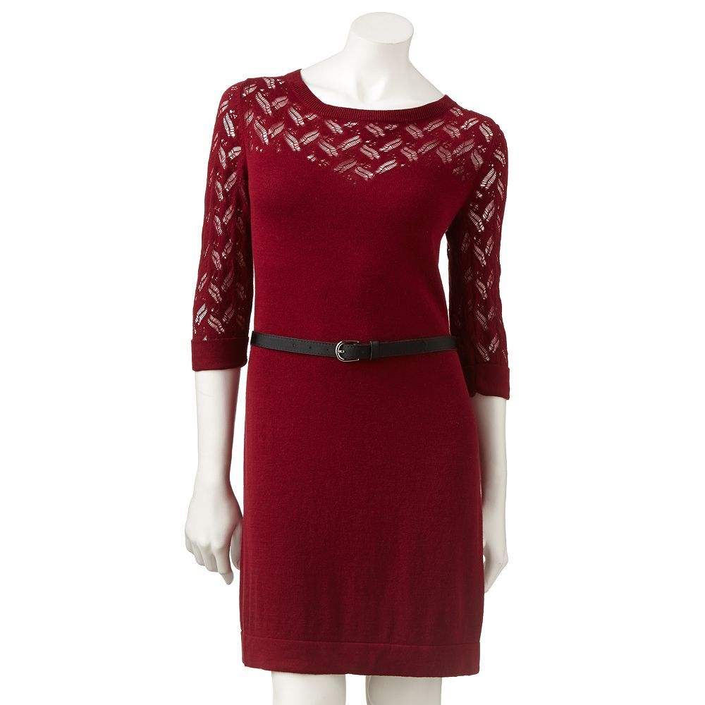 58a777b6aae LC Lauren Conrad sweater dress from Kohl s
