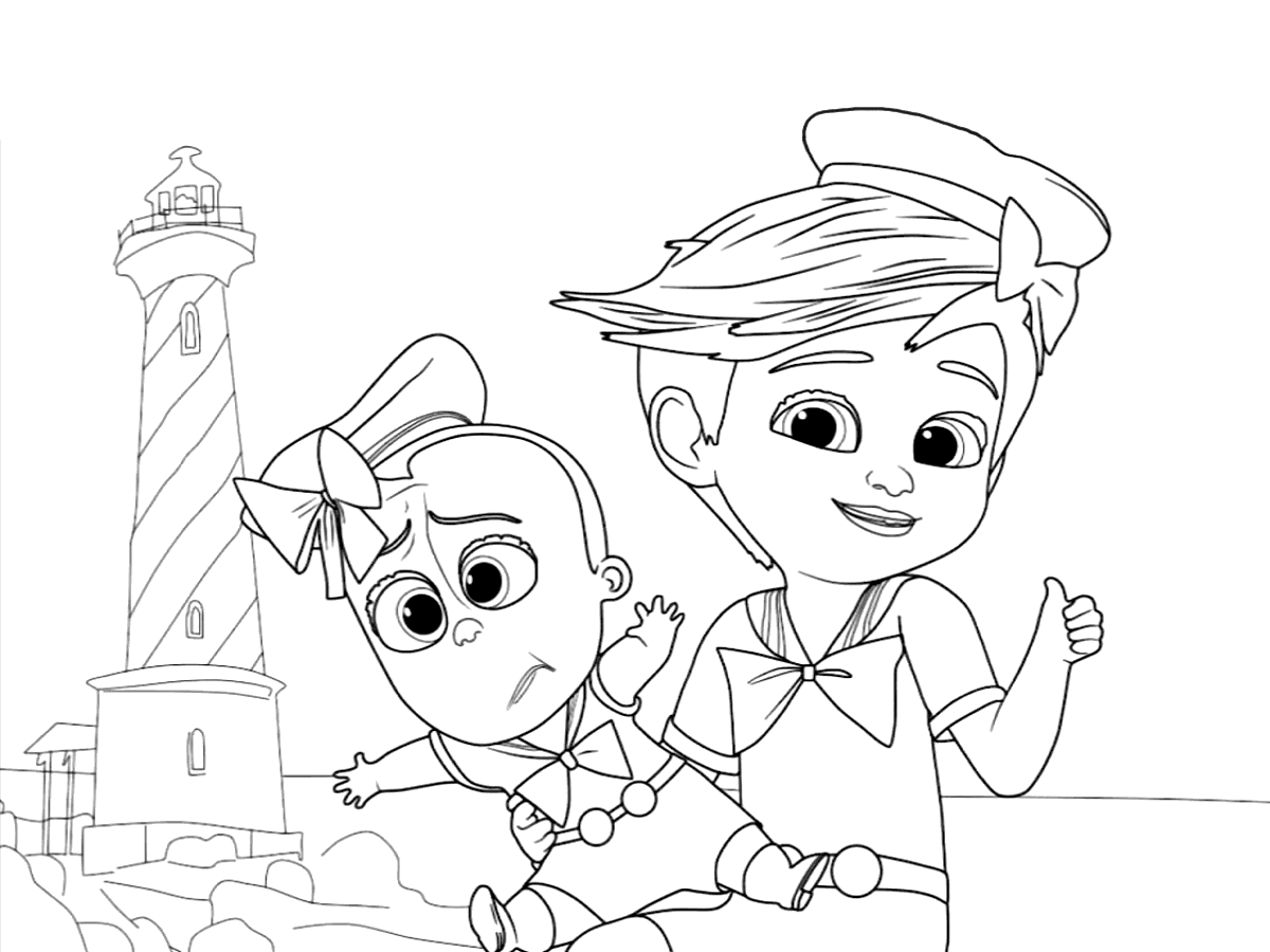 Top 10 The Boss Baby Coloring Pages Coloring Pages Baby Coloring