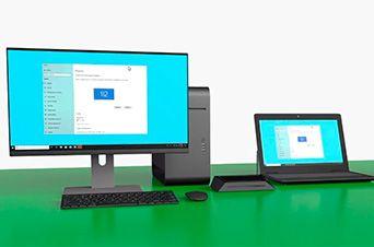 spacedesk Multi Monitor App Desktop Extension Screen
