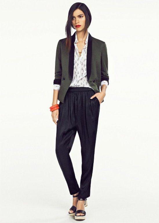 10 looks con pantalón harem   Cuidar de tu belleza es facilisimo.com